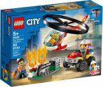 60248 LEGO® City Sürgősségi tűzoltó helikopter