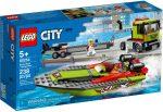 60254 LEGO® City Versenycsónak szállító