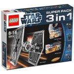 66432 LEGO® Star Wars™ Super Pack 3 in 1 (9492 + 9490 + 9496)
