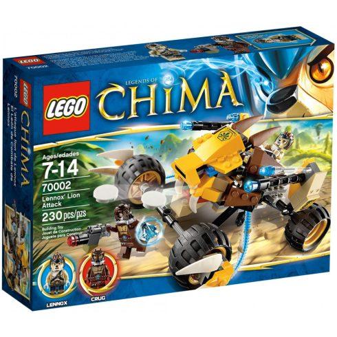 70002 LEGO® Legends of Chima™ Lennox oroszlános támadása