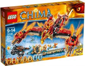 70146 LEGO® Legends of Chima™ Repülő Főnix Tűz Templom