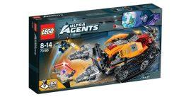 70168 LEGO® Ultra Agents Drillex gyémántrablása