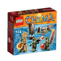 70231 LEGO® Legends of Chima™ A Krokodil törzs csapata