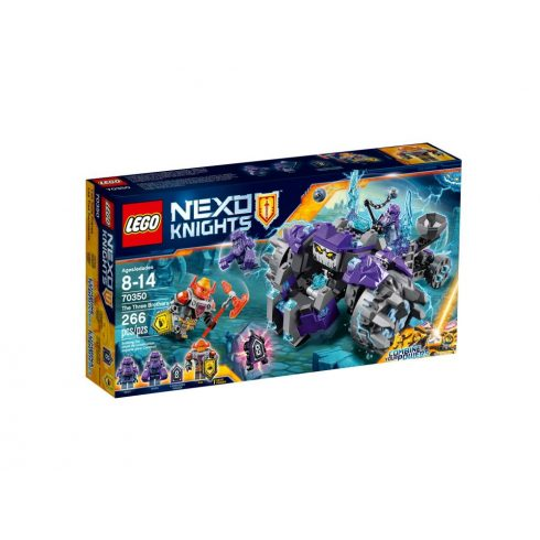 70350 LEGO® NEXO Knights™ A három testvér