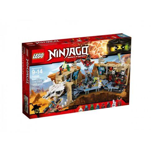 70596 LEGO® NINJAGO™ Káosz a Samurai X barlangban
