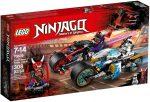 70639 LEGO® NINJAGO™ A Jaguárkígyó utcai verseny