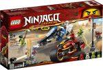 70667 LEGO® NINJAGO® Kai Pengés Motorja és Zane motoros szánja