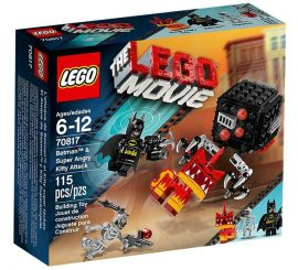 70817 LEGO® The LEGO® Movie Batman™ és Szuper Vad Kitty támadás