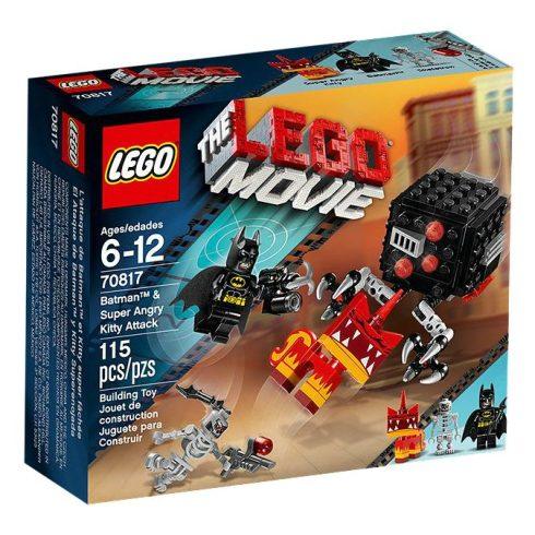 70817 LEGO® The LEGO® Movie™ Batman™ és Szuper Vad Kitty támadás