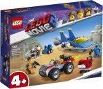 70821 LEGO® The Movie Emmet és Benny Építő és javító műhelye!