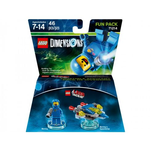 71214 LEGO® Dimensions® Fun Pack - The LEGO Movie Benny and Benny's Spaceship