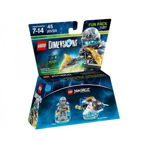 71217 LEGO® Dimensions® Fun Pack - Ninjago Zane and NinjaCopter