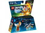71232 LEGO® Dimensions® Fun Pack - Legends of Chima Eris and Eagle Interceptor - Sérült csomagolás