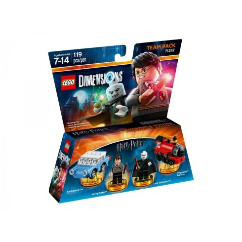 71247 LEGO® Dimensions® Team Pack - Harry Potter and Lord Voldemort