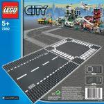 7280 LEGO® City Egyenes sín & kereszteződés