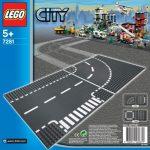7281 LEGO® City Elágazás & kanyar