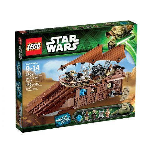 75020 LEGO® Star Wars™ Jabba sivatagi bárkája
