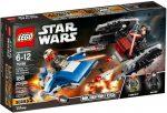 75196 LEGO® Star Wars™ A-szárnyú™ vs. TIE Silencer™ Microfighters