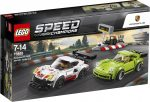 75888 LEGO® Speed Champions Porsche 911 RSR és 911 Turbo 3.0