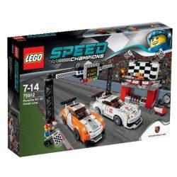 75912 LEGO® Speed Champions Porsche 911 GT célvonal