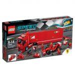 75913 LEGO® Speed Champions F14 T és Scuderia Ferrari kamion