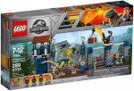 75931 LEGO® Jurassic World Dilophosaurus támadás az előőrs ellen
