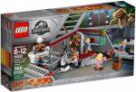 75932 LEGO® Jurassic World Jurassic Park velociraptor üldözés