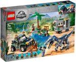 75935 LEGO® Jurassic World™ Baryonyx bonyodalom: A kincsvadászat