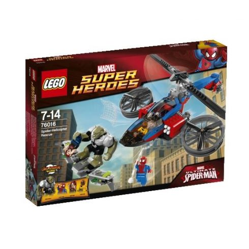 76016 LEGO® Marvel Super Heroes Pók-helikopteres mentés