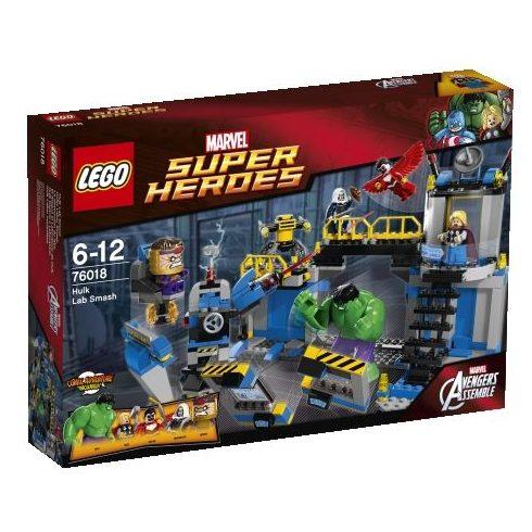 76018 LEGO® Marvel Super Heroes Hulk Labor rombolása