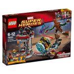 76020 LEGO Super Heroes Szabadulás Tudodholból