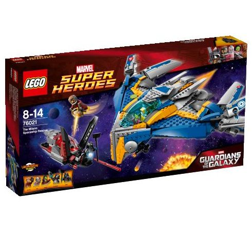 76021 LEGO® Marvel Super Heroes Mentés a Milano űrhajóval