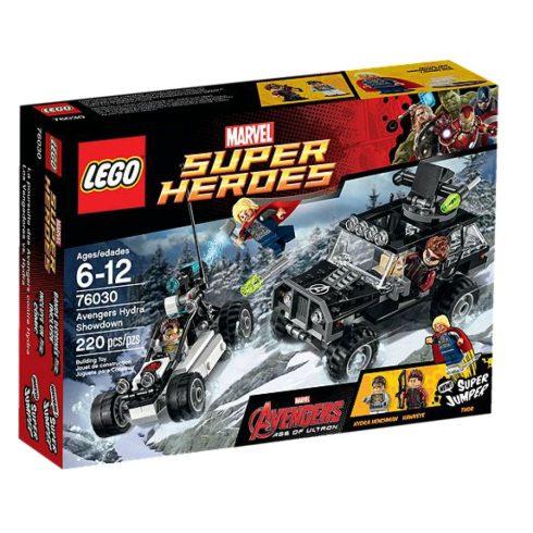 76030 LEGO® Marvel Super Heroes A Bosszúállók Hidrájának erőpróbája