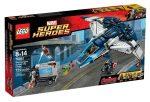 76032 LEGO® Super Heroes A Bosszúállók Quinjet City üldözés