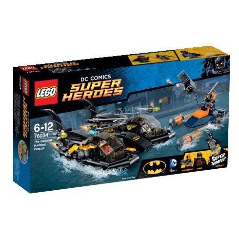 76034 LEGO® DC Comics™ Super Heroes A Batboat kikötői üldözés