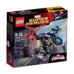 76036 LEGO Super Heroes Carnage égi támadása SHIELD ügynök ellen