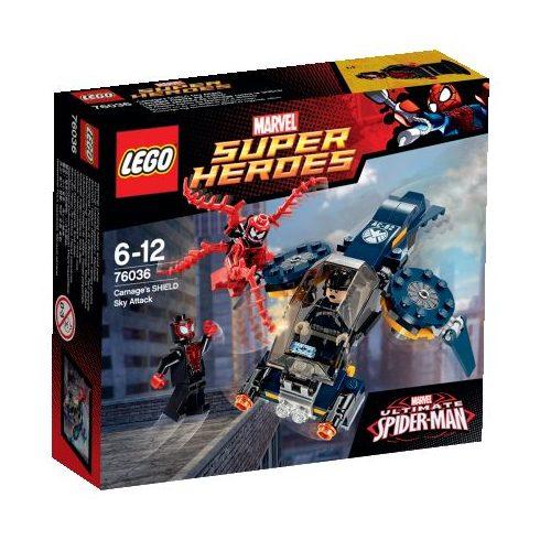 76036 LEGO® Marvel Super Heroes Carnage égi támadása SHIELD ügynök ellen