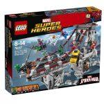 76057 LEGO® Super Heroes Pókember: Pókháló-harcosok utolsó csatája a hídon
