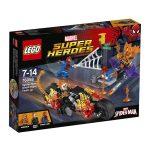 76058 LEGO® Super Heroes Pókember: összefogás Szellemlovassal