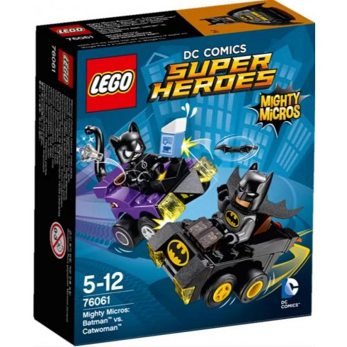 76061 LEGO® DC Comics™ Super Heroes Mini szuperhős szett: Batman™ vs. Macska