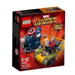 76065 LEGO Super Heroes Mini szuperhős szett: Amerika Kapitány vs Vörös koponya