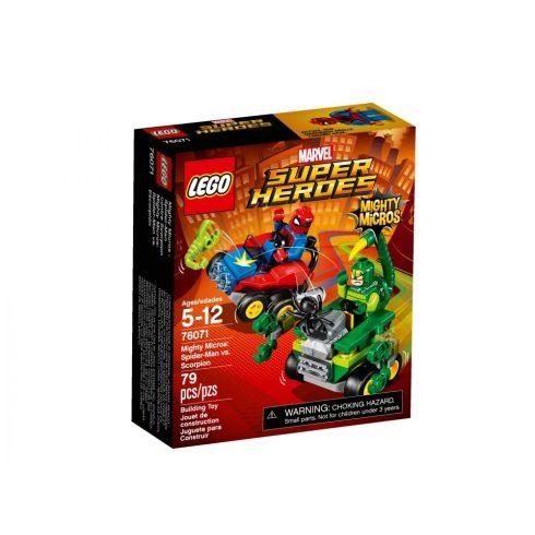76071 LEGO® Super Heroes Mighty Micros: Pókember és Skorpió összecsapása