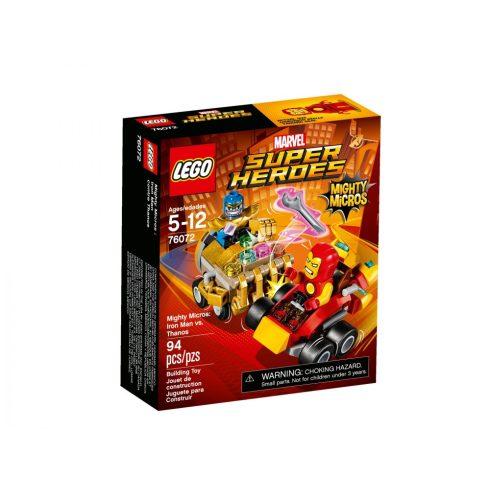 76072 LEGO® Marvel Super Heroes Mighty Micros: Vasember és Thanos összecsapása