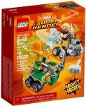 76091 LEGO® Marvel Super Heroes Mighty Micros: Thor és Loki összecsapása