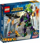 76097 LEGO® DC Comics Super Heroes Lex Luthor™ robot támadása