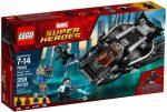 76100 LEGO® Marvel Super Heroes Királyi karomharcos támadás
