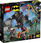 76117 LEGO® DC Comics Super Heroes Batman™ robot vs. Méregcsók™ robot