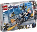 76123 LEGO® Marvel Super Heroes Amerika Kapitány : Outrider támadás