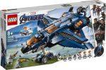 76126 LEGO® Marvel Super Heroes Bosszúállók Quinjet