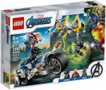 76142 LEGO® LEGO® Marvel Bosszúállók Speeder biciklis támadás